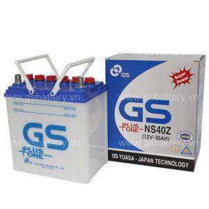 Ắc quy GS NS40 (Z) ( 12v – 35AH )